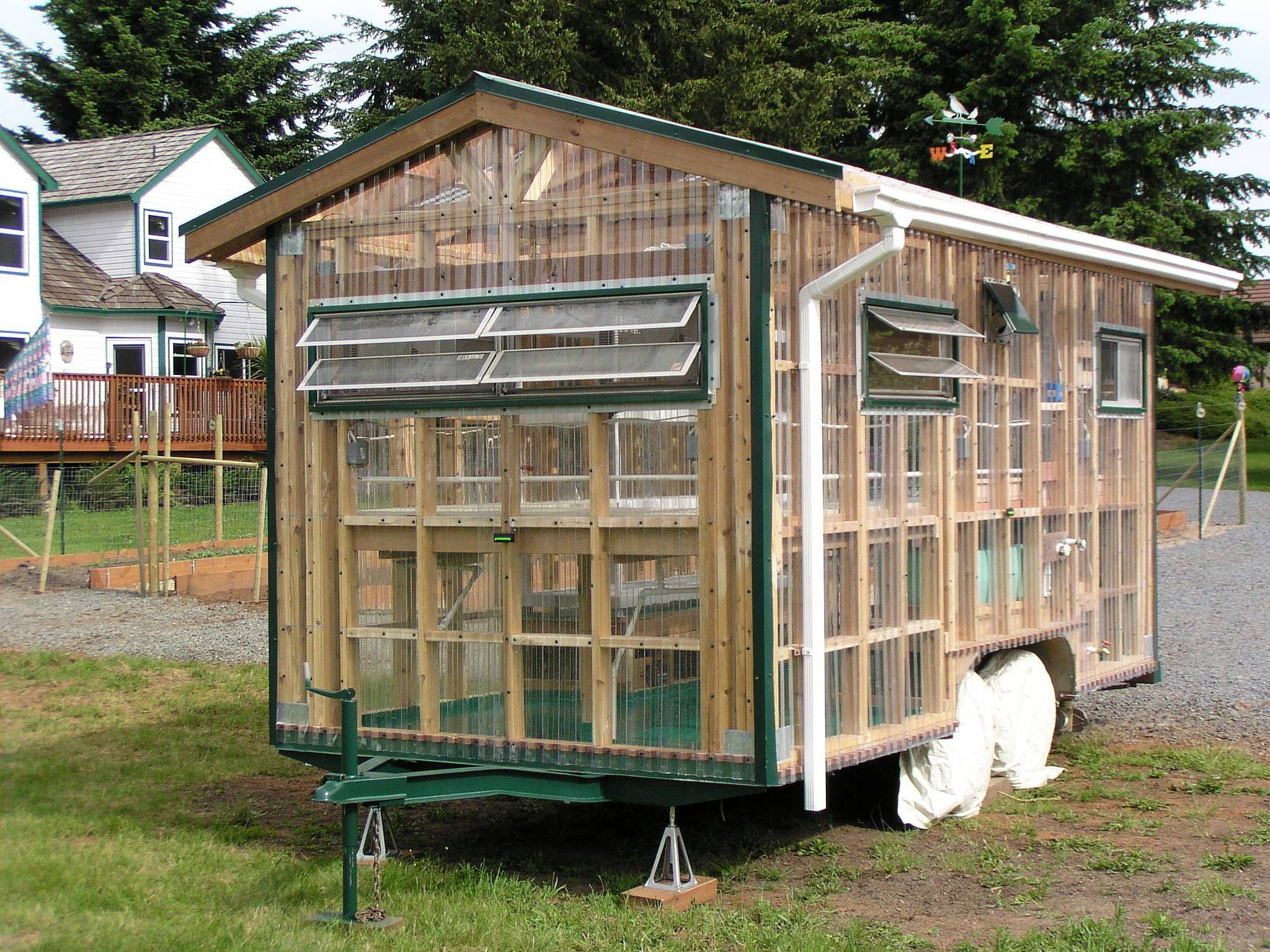 Showy Sheds These Garden Hideaways Are Packed With Creativity Oregonlive Com Greenhouse Outdoor Greenhouse Greenhouse Plans