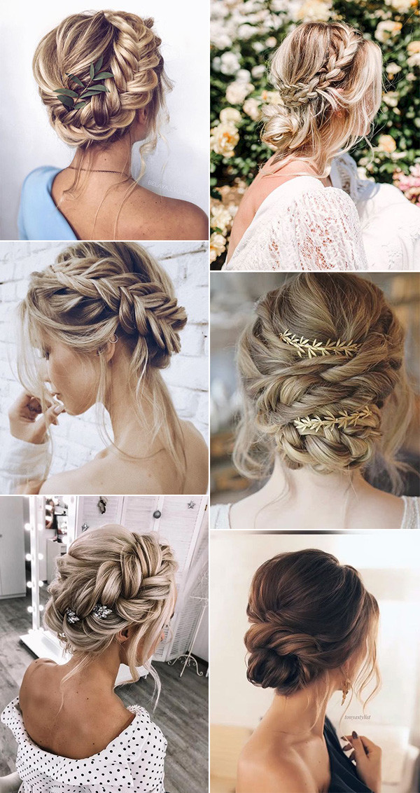 16 Effortless Boho Wedding Hairstyles To Fall In Love With Boho Updo Hairstyles Boho Wedding Hair Hair Styles