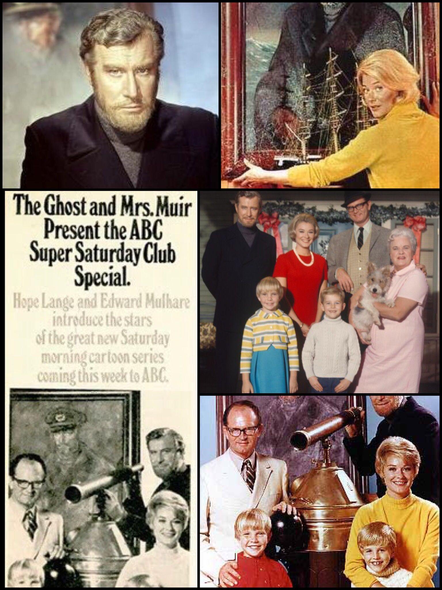 The Ghost And Mrs Muir Cartoons Series Hope Lange Muir