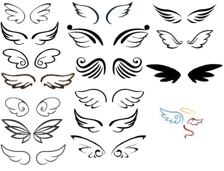 engelsflügel tattoosbild von simone hehl auf tattoo ideen