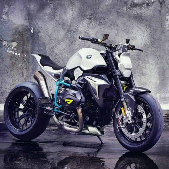 BMW Concept BikeBeautiful Street Fighter