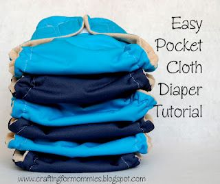 Save money and the Earth with cloth diapers. Here's a tutorial so you can make you own. =)