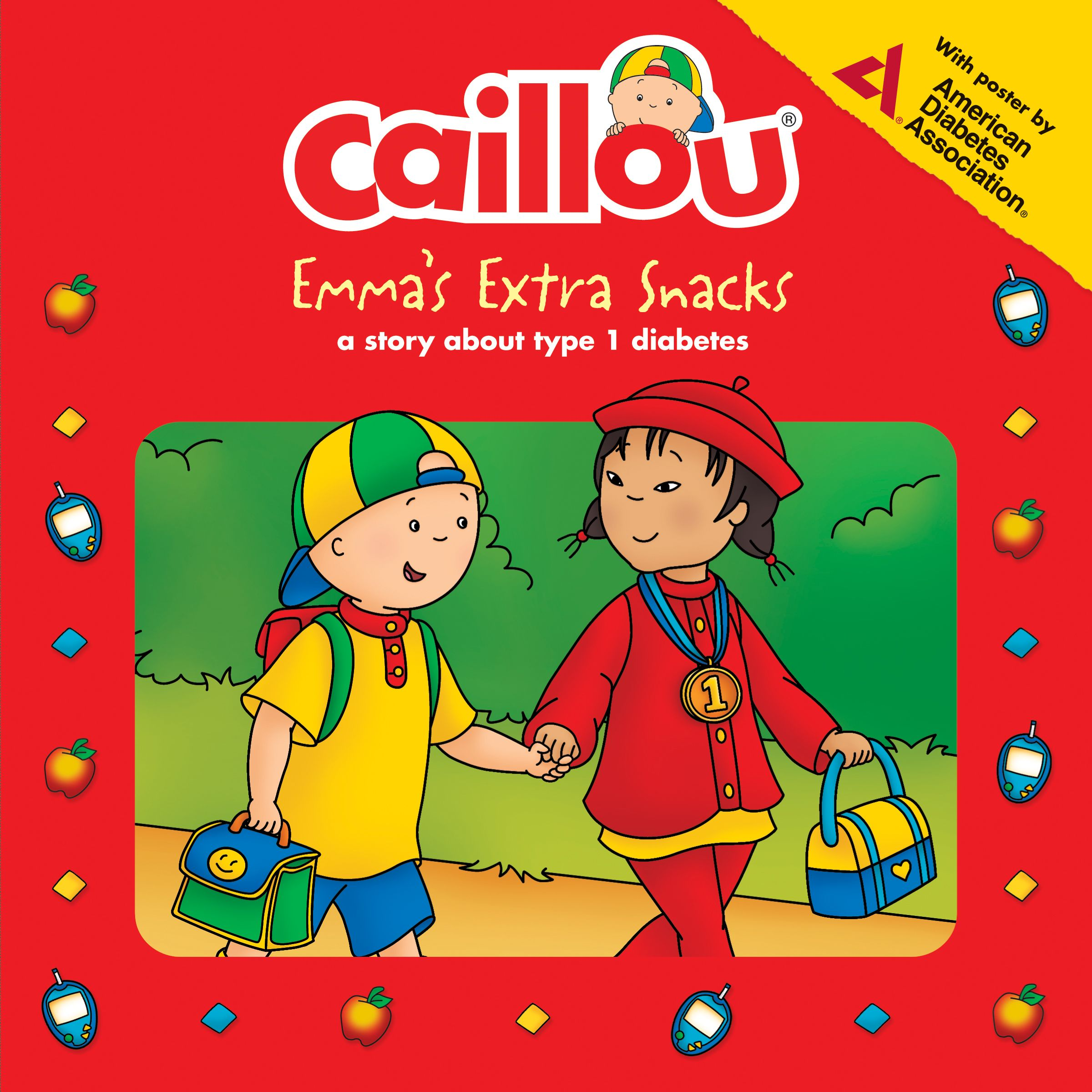 From The Best Selling Caillou Series Comes Emma S Extra