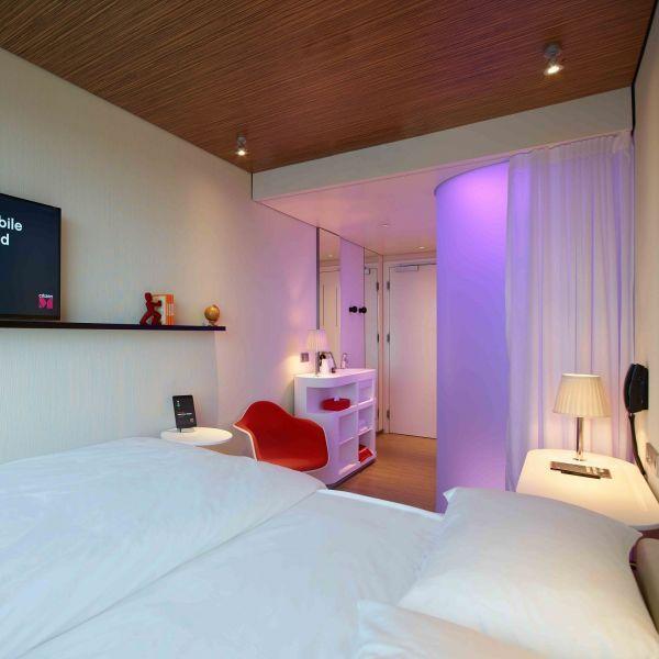 Znalezione obrazy dla zapytania CITIZEN M HOTEL Design tiny - design hotel citizenm london