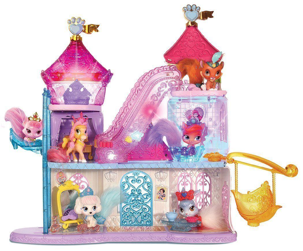 Amazon Com Whisker Haven Lights Pawlace Toys Games Princess Palace Pets Palace Pets Disney Princess Palace Pets