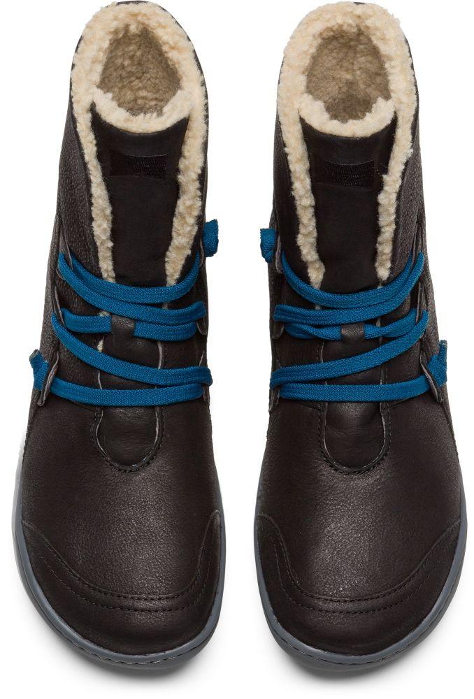 25c8eedb920a Camper Peu Black Ankle boots Women 46477-036