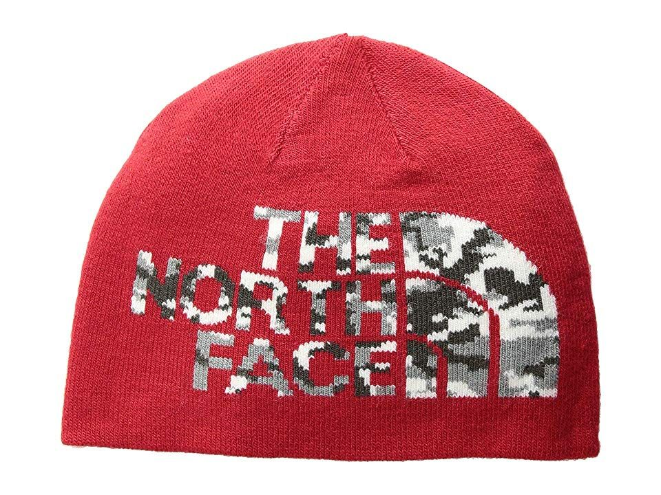 e9424b874 The North Face Kids Youth Anders Beanie (TNF Red/Asphalt Grey Camo ...
