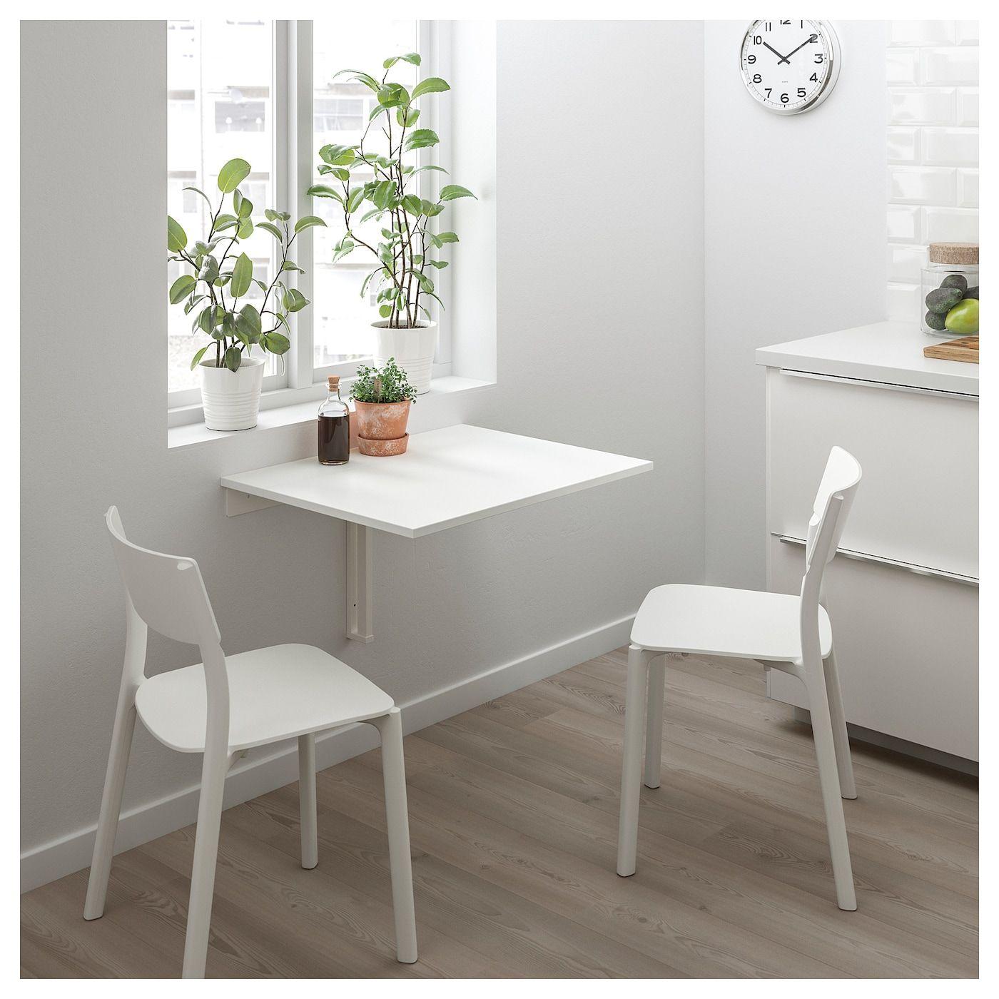 Norberg Vaggmonterat Klaffbord Vit Ikea Drop Leaf Table Leaf Table Wall Table