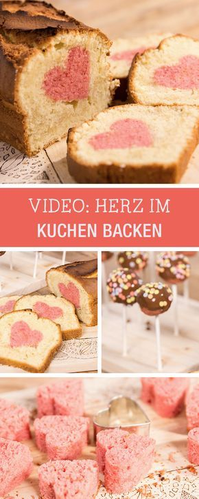 Rezept Fur Den Valentinstag Video Anleitung Fur Einen Kuchen Mit