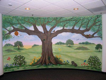 Childrens Murals for Baby Nursery Custom Childrens Murals Nature