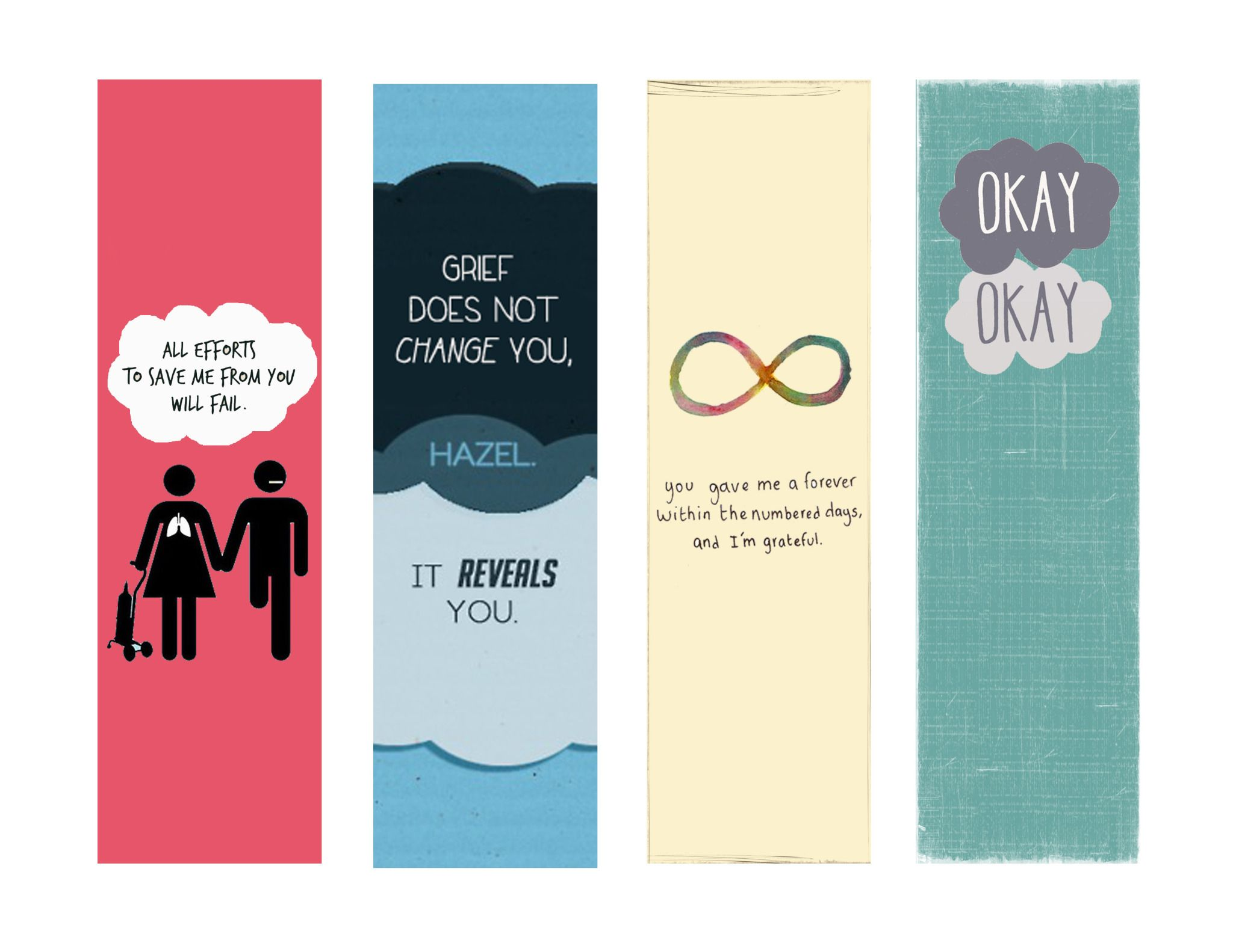 free printables the fault in our stars bookmarks_set 2jpg file shared from box