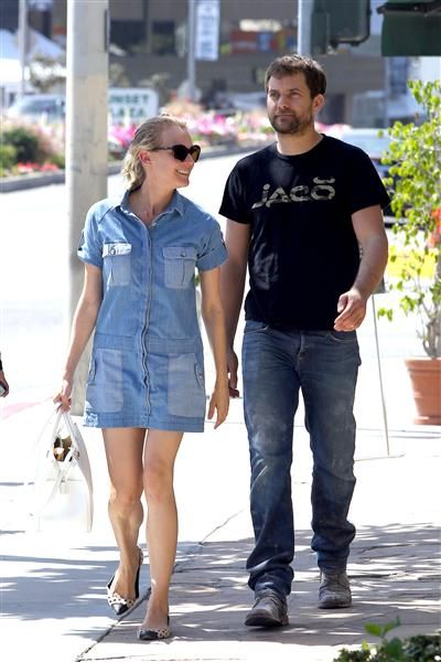 Diane Kruger and Joshua Jackson step out together in West Hollywood, Calif., on March 18, 2014.