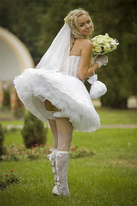 Situation Bride and wedding upskirt photos sorry