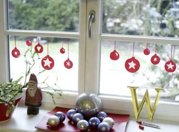 vorlagen basteln weihnachten kinder fenster  weihnachtsmotiv