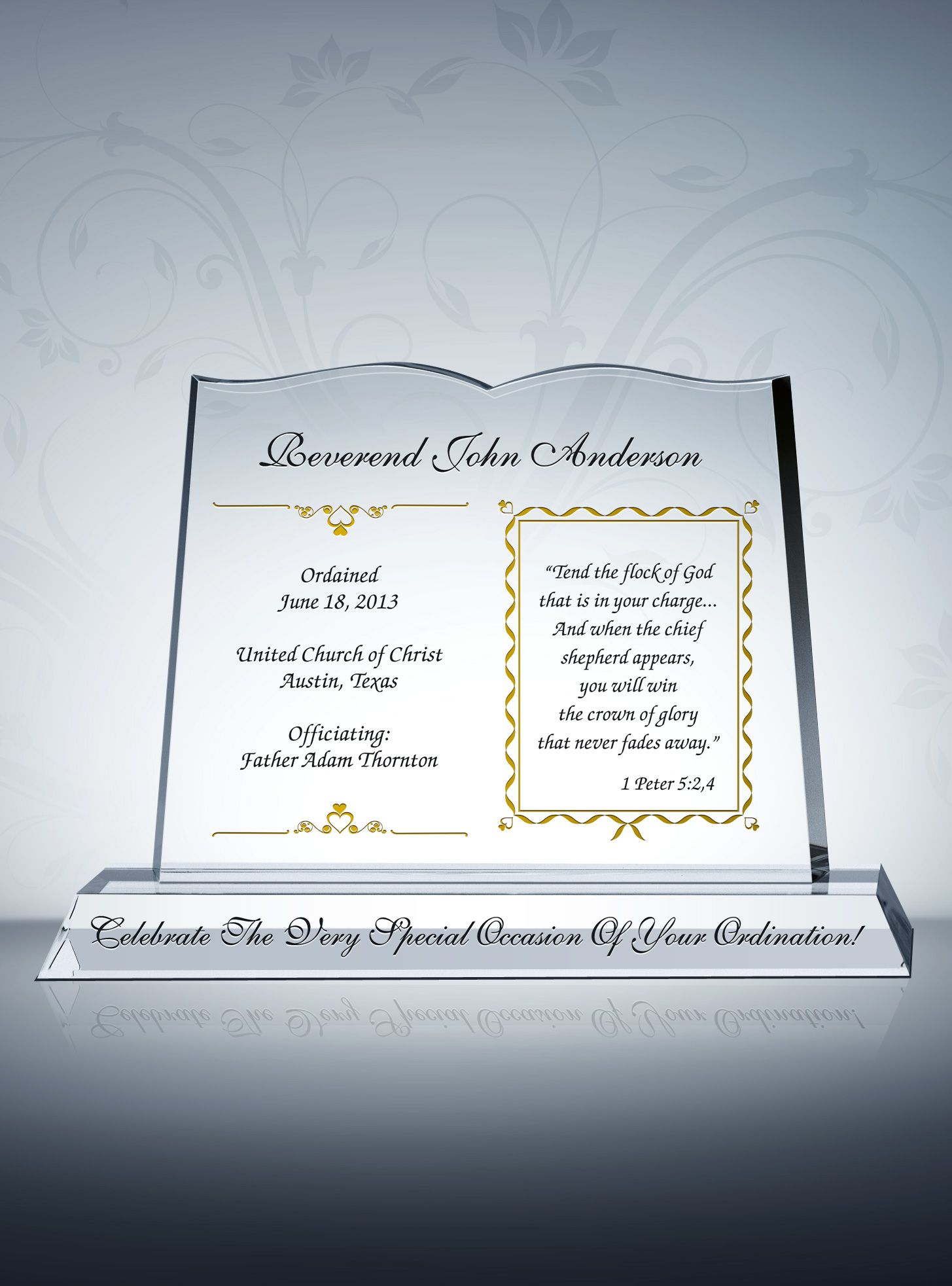 Pastor Ordination Gifts Sample Congratulation Wordings from DIY – Sample Congratulations Certificates