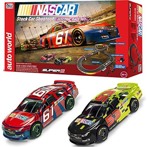 Nascar 10 Stock Car Shoot Out Slot Car Set Round 2 Stock Car Slot Car Sets Nascar
