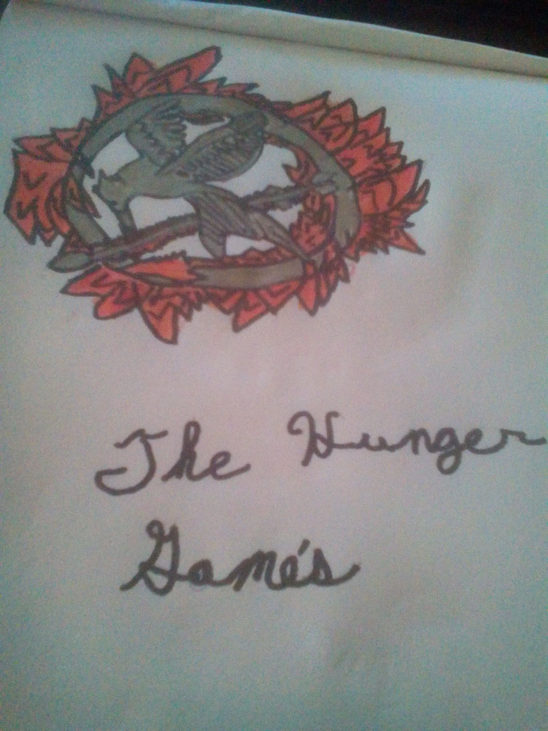 My Drawing Of The Hunger Games Symbol
