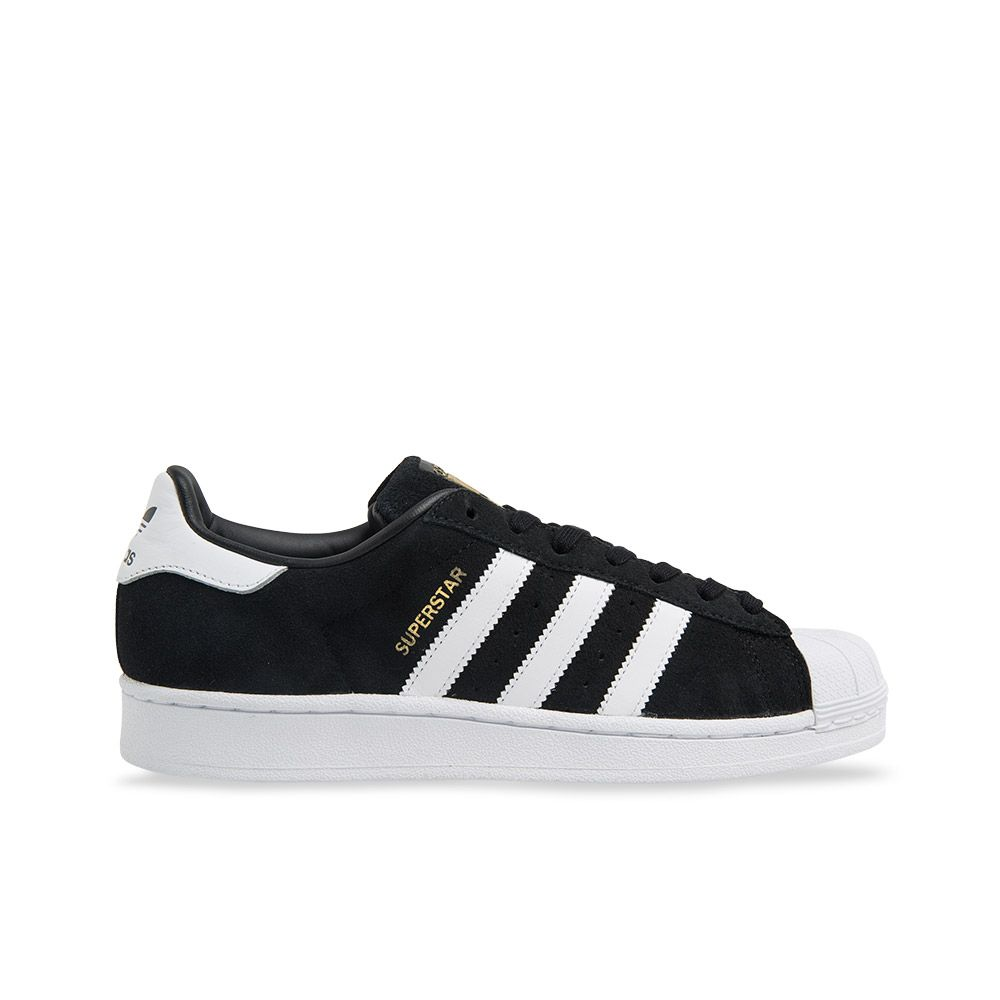 premium selection 7b320 4ef0a ... adidas superstar suede originals black white platypus shoes