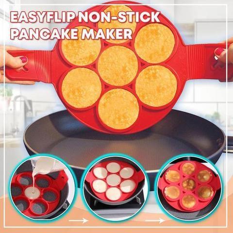 Nonstick Pancake Maker Egg Mold Ring Kit