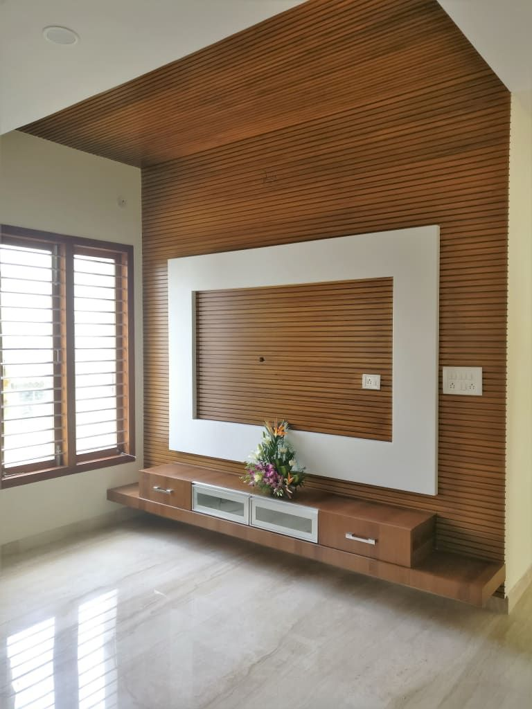 Lcd Panel Design Interior: Living Room Tv Unit Modern Living Room By Homify Modern