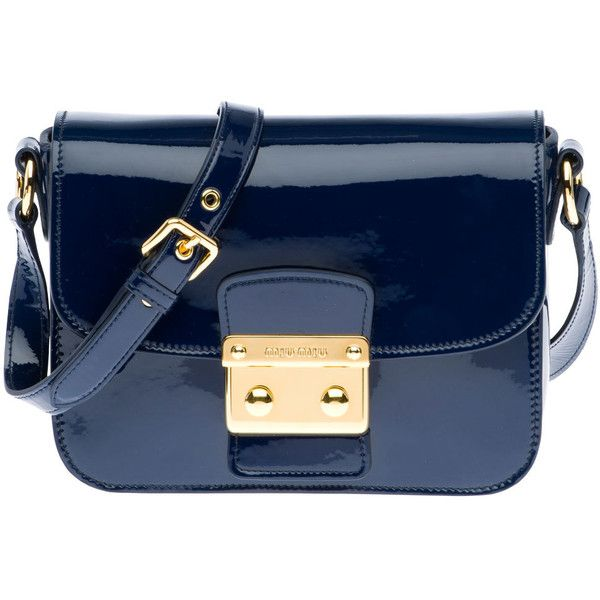 Miu Miu Shoulder Bag ❤ liked on Polyvore