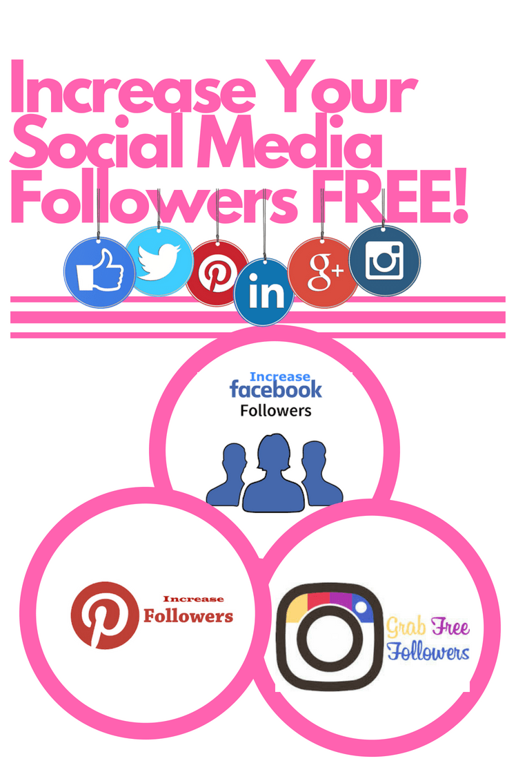 How to Increase Your Facebook, Instagram & Twitter Followers