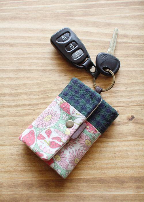 Card Wallet Key Chain Key Purse Diy Handbag Diy Purse