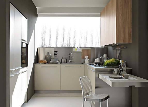 Decoraci n de cocinas peque as muebles 500 im genes en for Diseno de cocinas pequenas cuadradas