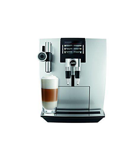 Jura 15075 Automatic Coffee Machine J90 Brilliant Silver Automatic Coffee Machine Coffee Machine Coffee Maker