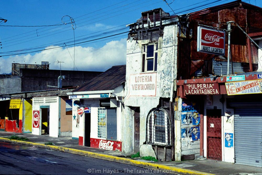 The Colorful Streets Of San Jose Costa Rica