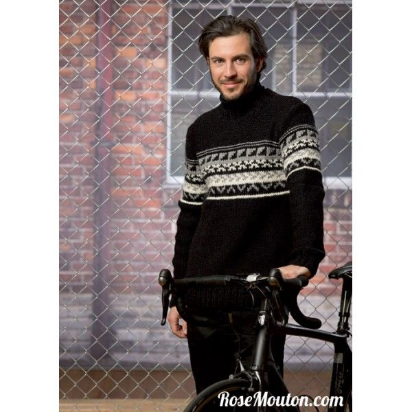 modele tricot jacquard laine
