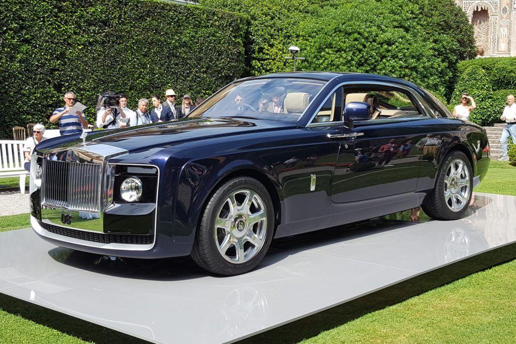 Znalezione obrazy dla zapytania Sweptail by Rolls Royce