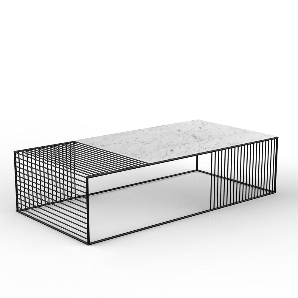 Wire Coffee Table Large Rectangle Iacoli Mcallister Tafel Meubels Salontafel [ 1000 x 1000 Pixel ]