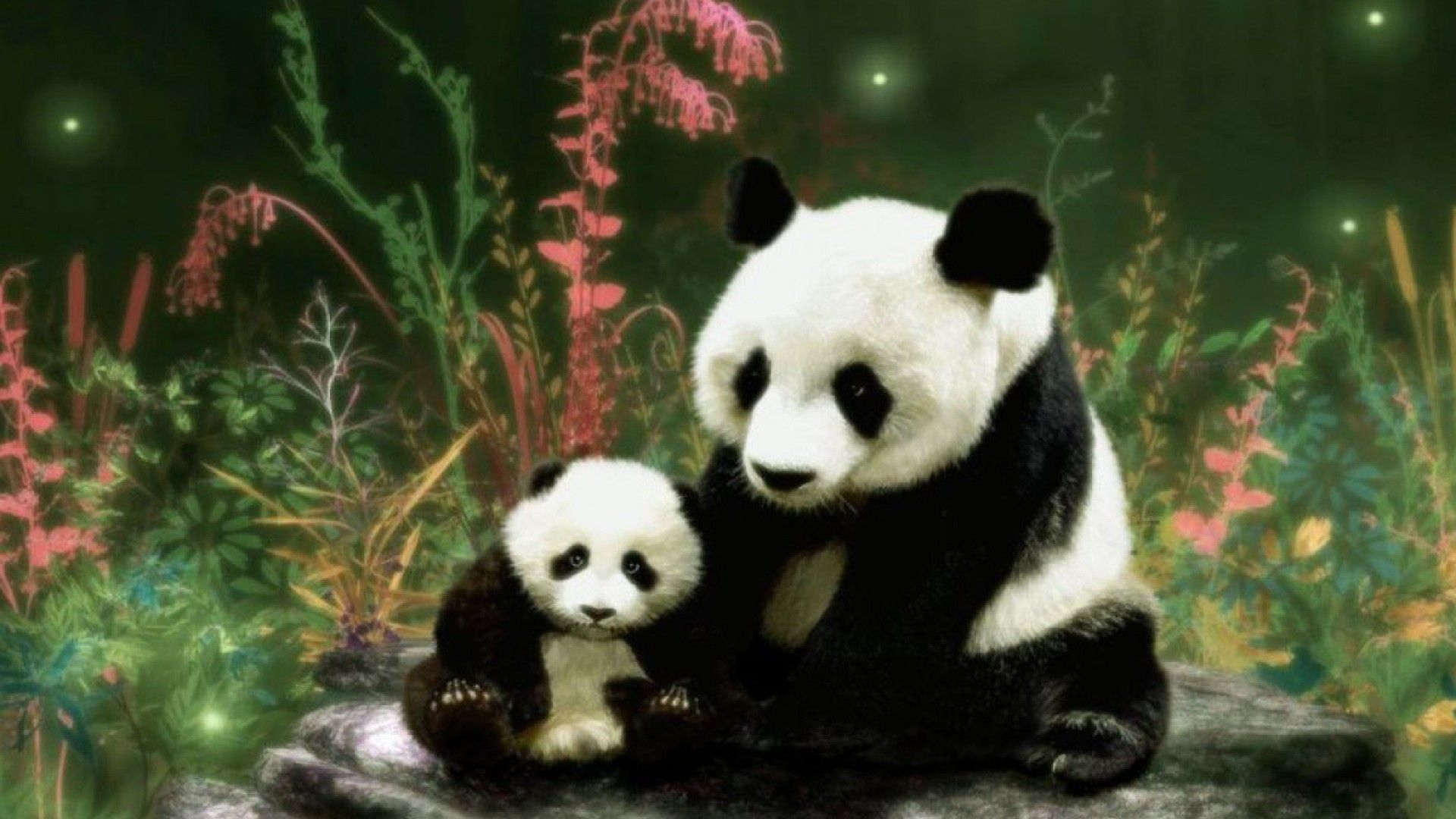 A young panda cub snacks on some bamboo  Voices from Russia   WordPress com