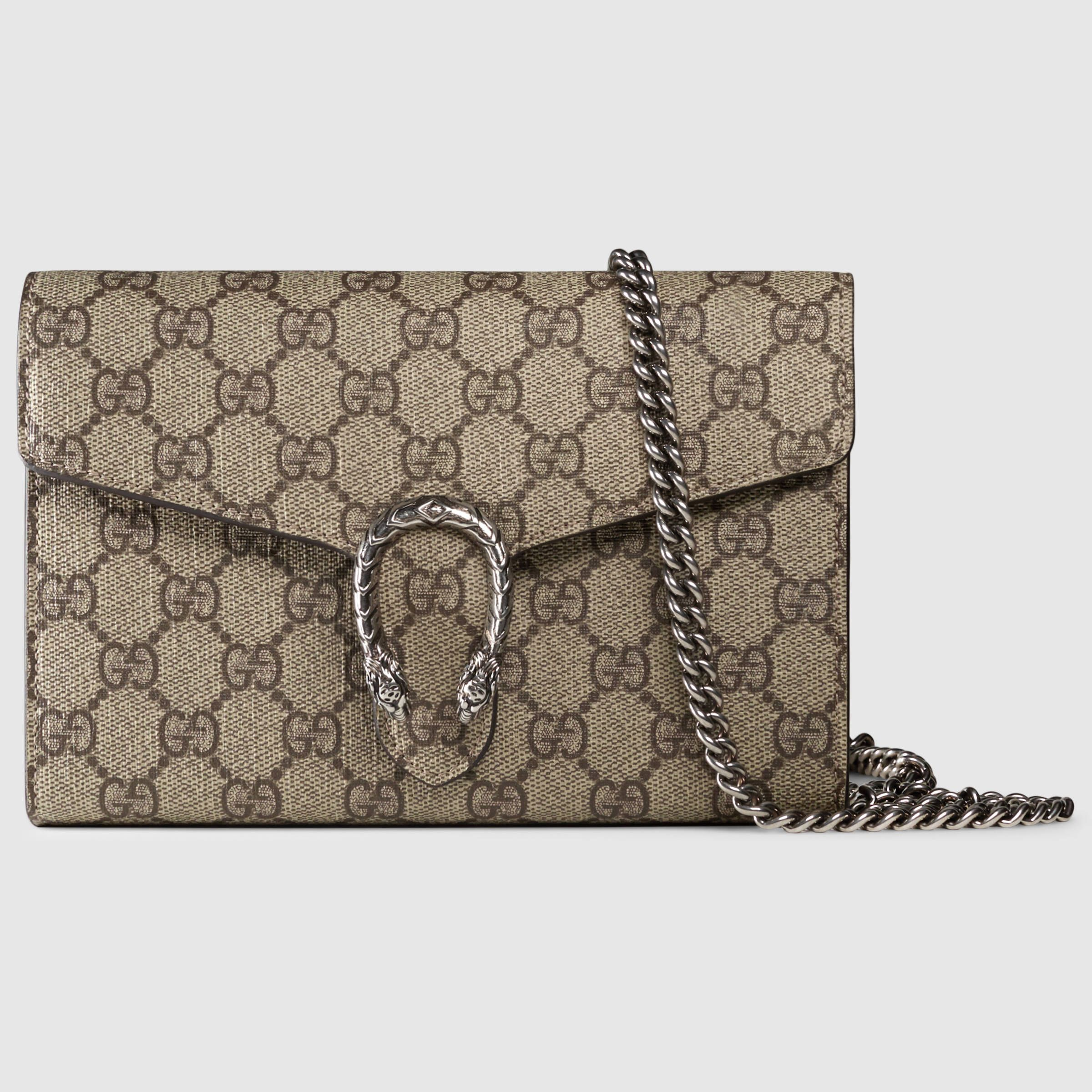 655106b00f4 Dionysus GG Supreme chain wallet in 2019