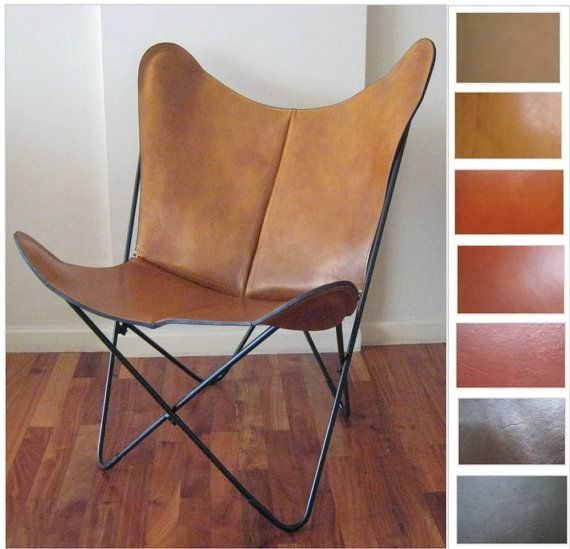 ORIGINAL Prima BKF Butterfly Chair In Premium Leather   Hardoy Sling Bonet  Modern Chairs