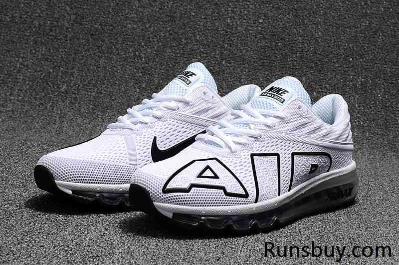 d94d880e2a3c New Nike Air Max 2017 9 KPU White Black Men