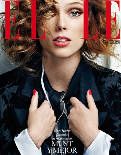 Elle Cover Coco Rocha shot by fashion photographer Xavi Gordo represented by 8AM - 8 Artist Management #artistmangement #fashion #editorial  #8artistmanagement #xavigordo ★★ 8AM / 8 Artist Management ★★  more photos in http://8artistmanagement.com/
