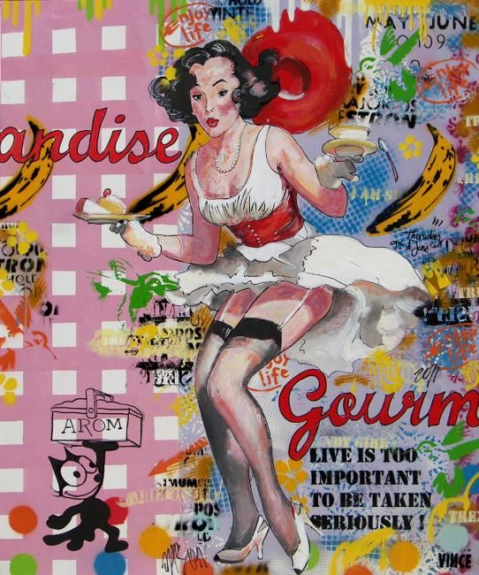 Gourmandise | Vincent richeux, Gourmandise, Artwork