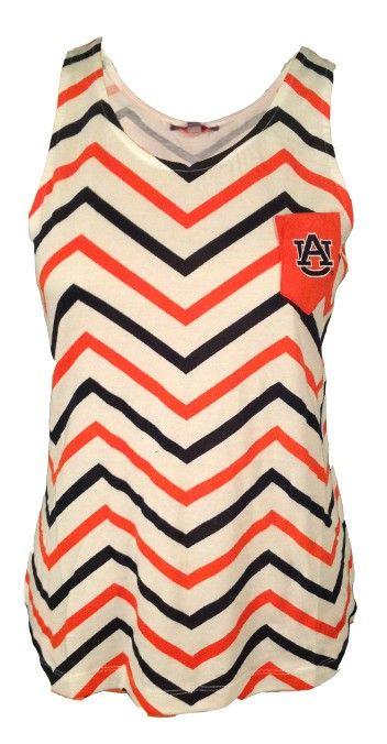 auburn chevron tank top auburn university apparel by tiger rags rh pinterest co uk Auburn Girly Logo Auburn Chevron Wallpaper