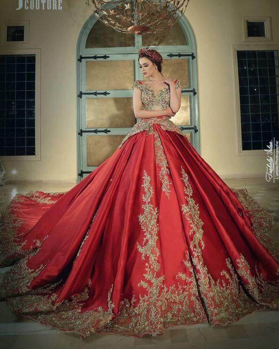 Vestidos De 15 Años Color Rojo Vestidos De Xv Años Rojos