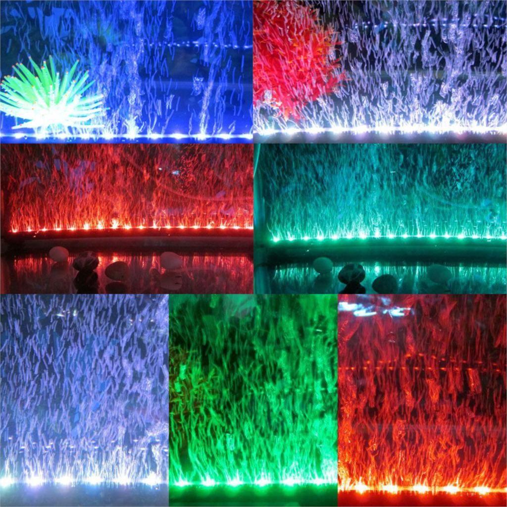 New Practical 18 LED Aquarium Waterproof Multicolor Light with ...