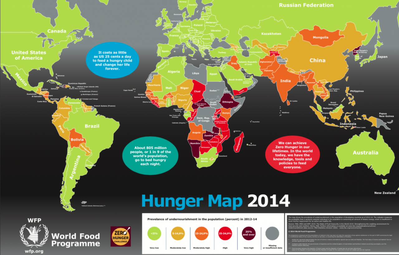 Mapping Hunger With Your Students Hunger Map