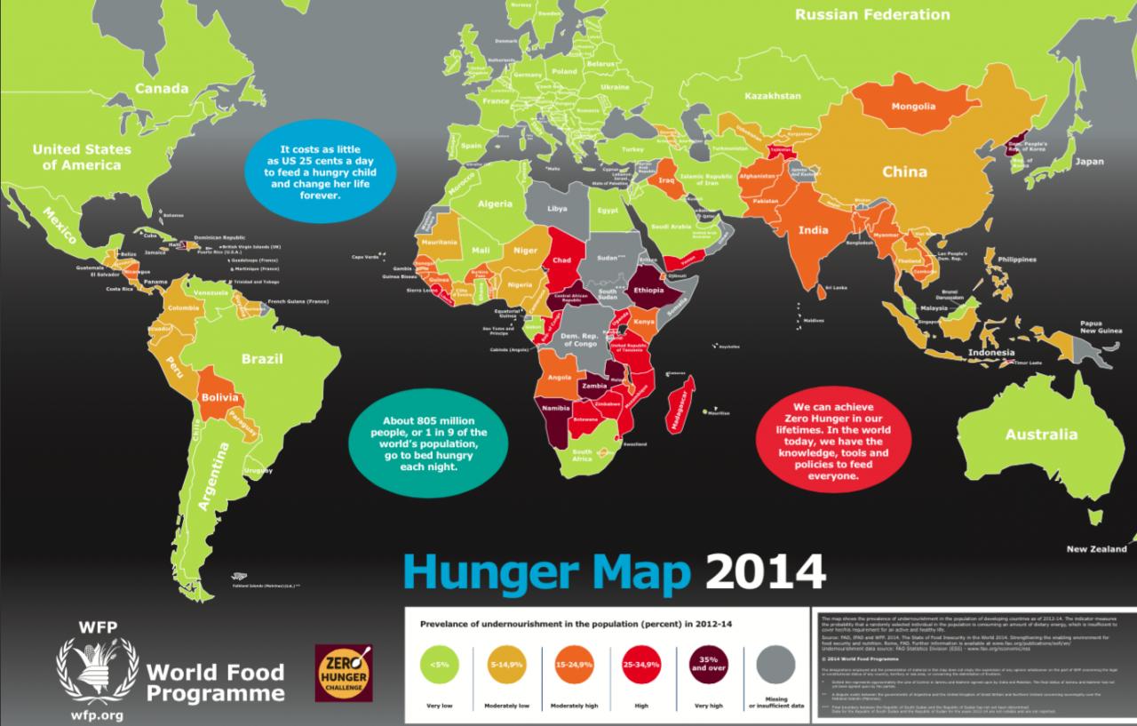 Hunger Map 2014 Hunger Map 2014