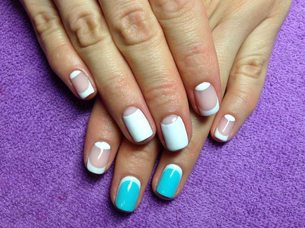 French nail design for everyday :: one1lady.com :: #nail #nails ...