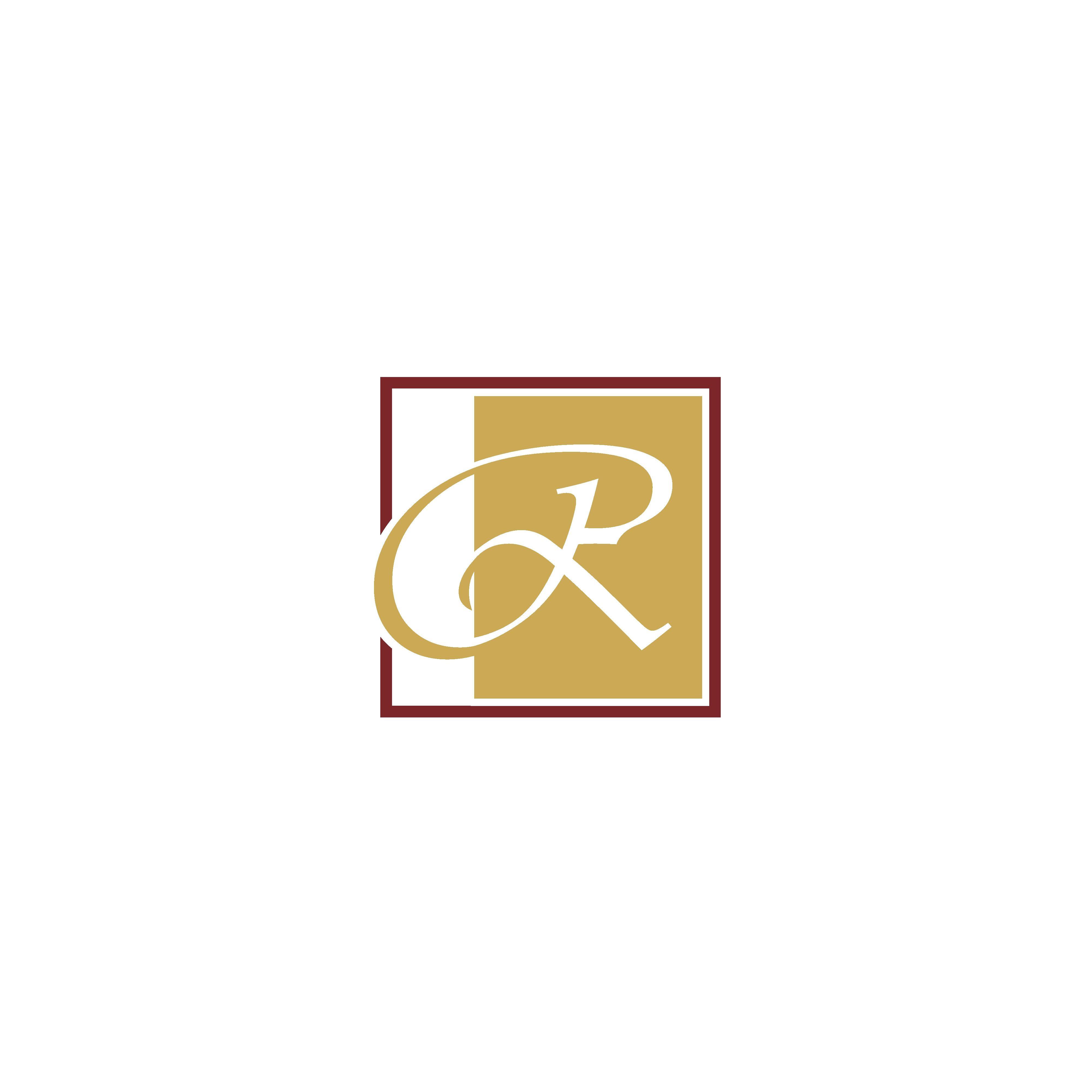 Letter R logo vector. Luxury R Letter