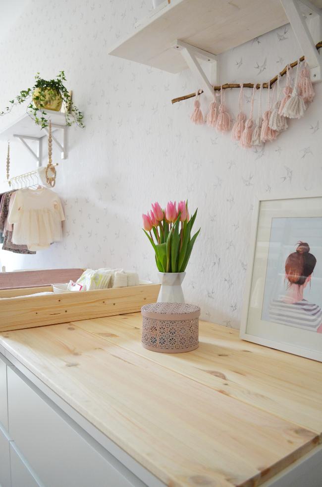 Frida´s Babyzimmer & DIY Wickelauflage