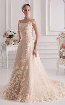 Vestidos de novia elegantes y modernos de colores