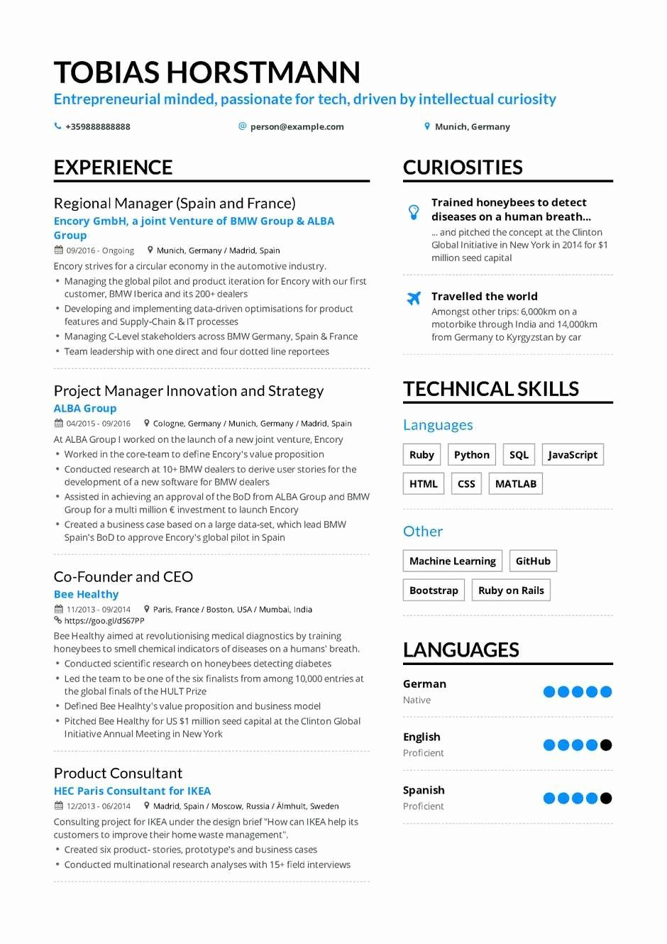 Entry Level Project Management Resume Fresh The Best 2019 Project Manager Resume Example Guide In 2020 Project Manager Resume Manager Resume Resume Examples