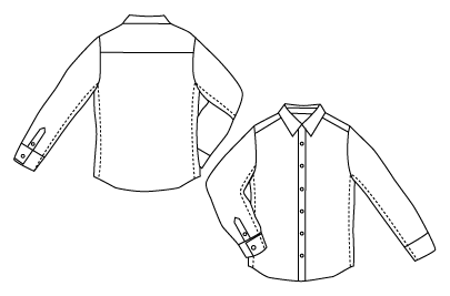How To: Tailor a Button-Down Shirt for a Perfect Fit